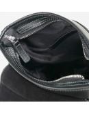 Фотография Чёрная плечевая мужская сумка среднего размера 7685-1A