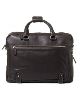 Кожаная мужская коричневая сумка для ноутбука Katana k769258-2