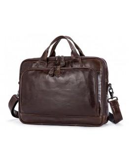 Стильный кожаный портфель на каждый день 77005Q