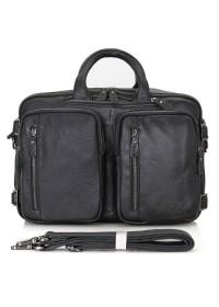 Мужская сумка - рюкзак из натуральной кожи 77014A