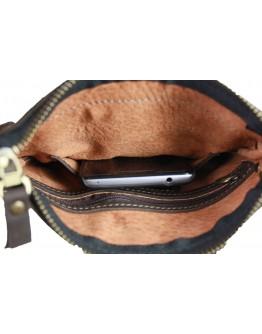 Небольшая мужская коричневая сумка планшетка 77020-SKE