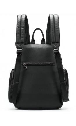 Черный рюкзак из натуральной кожи 77042A-2