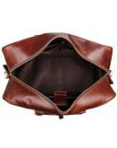 Фотография Большая коричневая дорожная мужская сумка 77056-L1