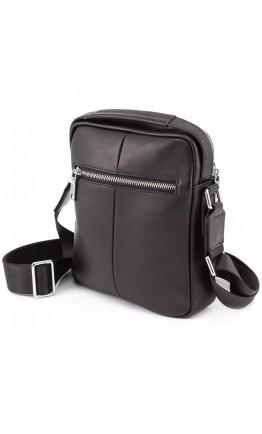 Мужская сумка - барсетка кожаная Marco Coverna 7706-1A black