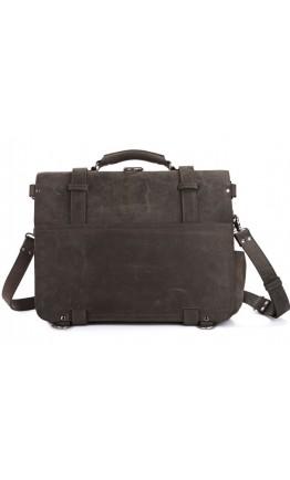 Мужская вместительная сумка из натуральной кожи 77072J