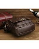 Фотография Кожаная сумка на плечо из мягкой кожи Cross 77073
