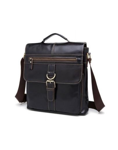 Фотография Коричневая вместительная сумка в руку и на плечо Cross 77074-R1