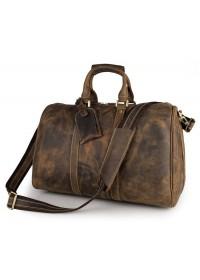 Добротная мужская сумка из первоклассной кожи 77077