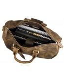 Фотография Добротная мужская сумка из первоклассной кожи 77077