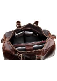 Большая мужская коричневая сумка для командировок 77077c