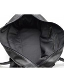 Фотография Дорожная черная кожаная сумка для командировок Tarwa 77079-3md