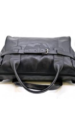 Дорожная черная кожаная сумка для командировок Tarwa 77079-3md