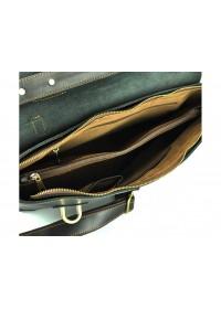 Черный удобный мужской кожаный портфель 77082-A2