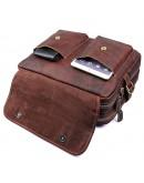 Фотография Кожаная мужская сумка, плотная кожа 77085Q