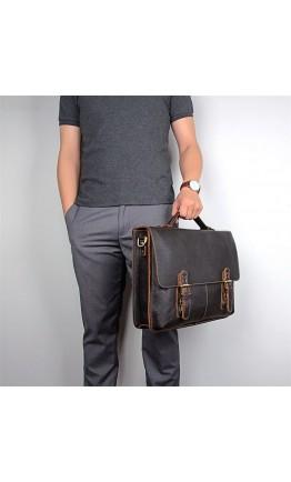 Стильный и безупречный мужской коричневый портфель 77090R