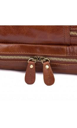 Купить удобную городскую коричневую мужскую сумку 77092-2B