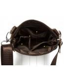 Фотография Кожаная мужская сумочка чёрная m7701a
