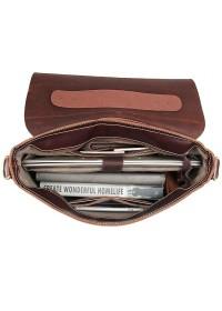 Элегантный кожаный мужской портфель 77108