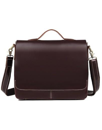 Фотография Элегантный кожаный мужской портфель 77108