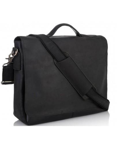 Фотография Кожаный мужской портфель, деловая сумка 77108A-1