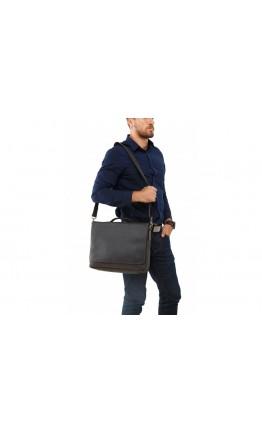 Кожаный мужской портфель, деловая сумка 77108A-1