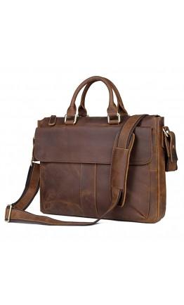 Повседневный мужской портфель из конской кожи 77113R2