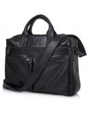 Фотография Кожаная мужская сумка для большого ноутбука 77122A-8