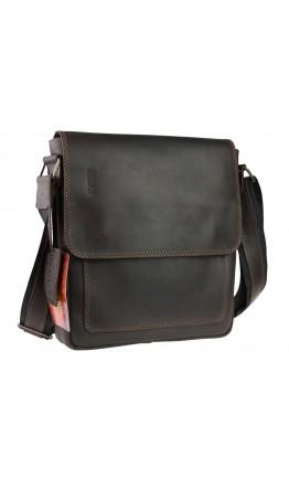 Коричневая вертикальная мужская сумка-планшетка 77138-SKE