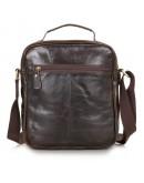 Фотография Удобная кожаная мужская сумка на плечо и в руку 77141