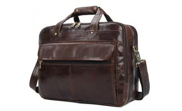 Качественная сумка шикарного коричневого цвета 77146Q
