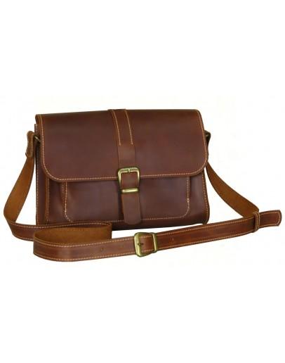 Фотография Женская светло - коричневая кожаная сумка 77149-SGE