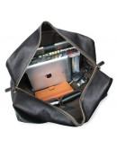 Фотография Большая чёрная мужская дорожная сумка 77156LA