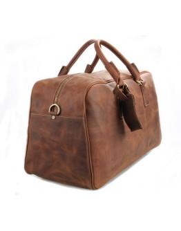 Винтажная мужская кожаная дорожная сумка 77156LR