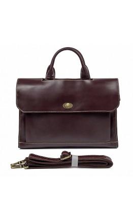 Модный добротный портфель мужской из кожи 77166C
