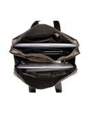 Фотография Кожаный мужской портфель, винтажный стиль 77167c-1