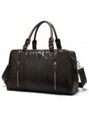 Фотография Большая спортивная, дорожная, повседневная коричневая сумка 77190С