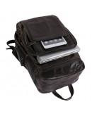 Фотография Большой серый мужской кожаный рюкзак 77202J