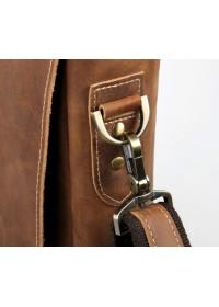 Портфель мужской коричневый из конской кожи 77229B