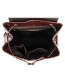 Фотография Тёмно-коричневый стильный мужской рюкзак 77249 br