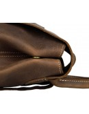 Фотография Вместительный мужской рюкзак из говяжьей кожи 77253