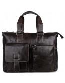 Фотография Шикарный мужской портфель из телячьей кожи 77264J