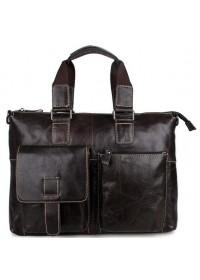 Шикарный мужской портфель из телячьей кожи 77264J