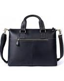 Фотография Вместительный кожаный мужской портфель - сумка 77264AR