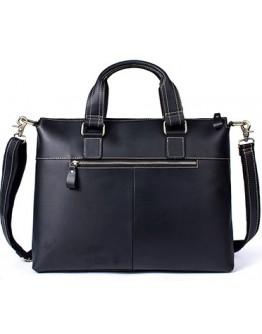 Вместительный кожаный мужской портфель - сумка 77264AR