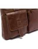 Фотография Кожаная коричневая сумка для мужчин 77264b