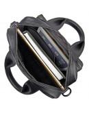 Фотография Мужская кожаная сумка через плечо и в руку 77266A