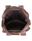 Фотография Коричневая мужская повседневная кожаная сумка 77266b
