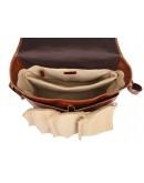 Фотография Большая коричневая сумка на плечо с органайзерами 77269b