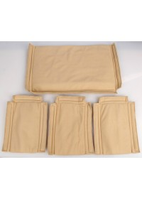 Большая коричневая сумка на плечо с органайзерами 77269b