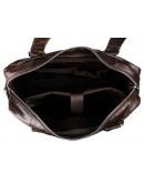 Фотография Большая мужская сумка шоколадного цвета 77288q